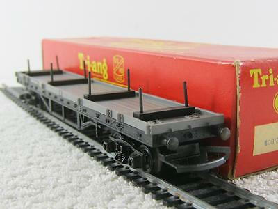 Tri-ang Hornby 00 Gauge R.110 Bogie Bolster Wagon VGC BOXED