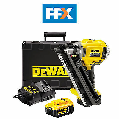 DeWalt DCN692P2 18v XR Cordless Brushless Li-Ion Framing Nailer 2 x 5.0ah