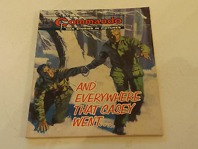 Commando War Comic Number 1311!!,1979 Issue,good For Age,38 Years Old,v Rare.