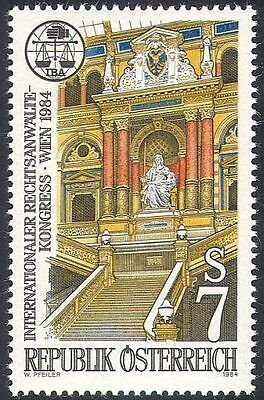 Austria 1984 Law/Order/Palace of Justice/Scales/Buildings 1v (n25523)