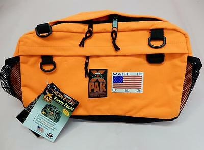 NEP Outdoors THERM-A-SEAT X-Pak Full Pack Fanny Pack, Blaze Orange