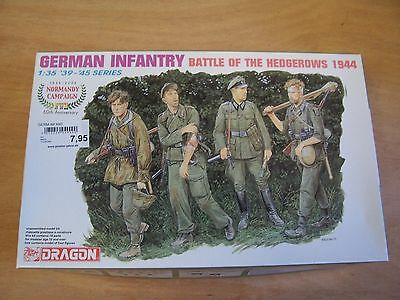 DRAGON 6240 German Infantry 'Battle of the Hedgerows' 1:35 NEU OVP RF