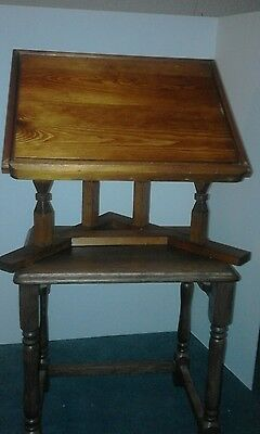 wooden lectern/book  stand