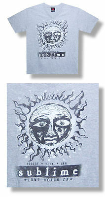 Sublime -NEW Distressed RPS V-Neck T Shirt- 2XLARGE- SALE FREE SHIPPING TO U.S!