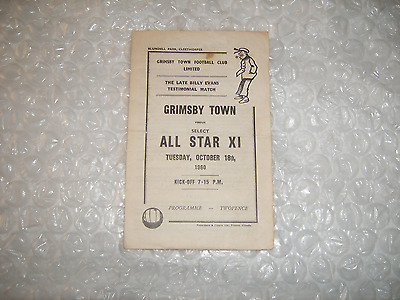 Grimsby 1960 Notts Villa Southampton Forest Rotherham Chesterfield Peterborough