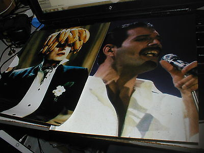 Queen Freddie Pair Of Glossy A4 Pictures And Pair Of Brian + Kerry Tour Flyers