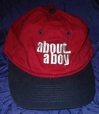 BJ059 About a Boy Movie Cap Hat Promo New