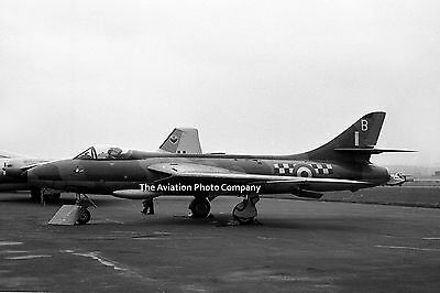 RAF 43 Sqn Hawker Hunter F.4 XE702 at Prestwick (1958) Photo