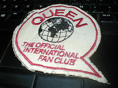 Queen The Official International Fan Club Official Patch Used