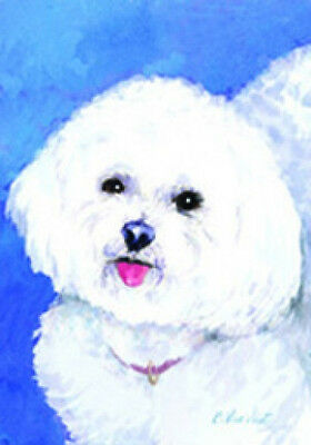 Garden Indoor/Outdoor Decorative Flag - Bichon Frise 200371
