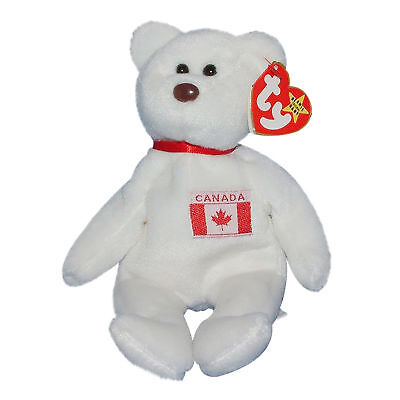 6ba04c7b96d TY BEANIE BABY Maple - MWMT (Bear Canada Exclusive 1996) -  9.41 ...