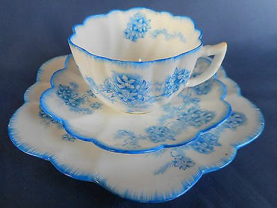 A Very Fine Antique China Trio Made By A.b. Jones & Sons , Longton - C.1900