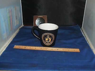Defense Intelligence Agency Nice 2 sided logo coffee cup DOES NOT LEAK