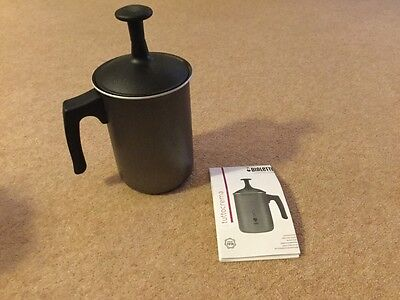 Bialetti Tuttocrema Milk Frother - Stove Top - Hob - Italian - New - Easy To Use