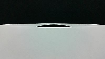 """20 Heavy White Paper Sleeves 45rpm dj 7"""" Vinyl Records SEVEN INCH 45 Cover"""