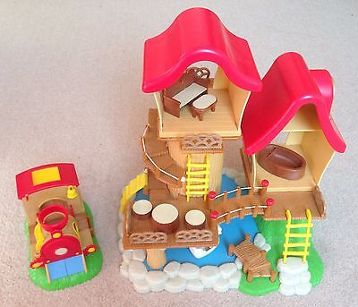Sylvanian Families Rare Baby Fairground Tree House Train Accessories Furniture