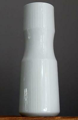 Vintage 60-70's OP ART by THOMAS Porcelain Vase German Bavaria Art Fat Lava Era