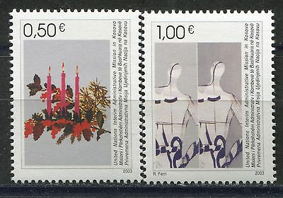 KOSOVO(004) 2003 - New Year - MNH(**) Set