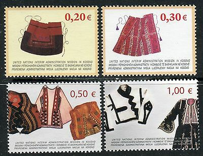 KOSOVO(007) 2004 - National Costumes - MNH Set