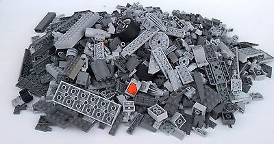 Large Assortment Of Lego In Shades Of Gray 1Kg+