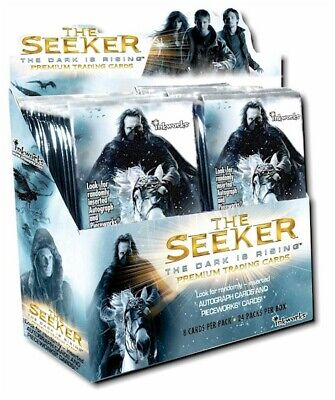 The Seeker The Dark is Rising Factory Sealed Card Box