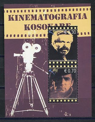 KOSOVO(065) 2010 - Famous Actors - Cinematography - Souvenir Sheet MNH