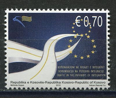 KOSOVO(074) 2010 - Traffic in the Pathways of Integration - MNH(**) Set