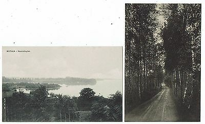 Post Cards Early Printed Of Motala