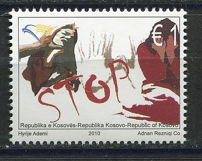KOSOVO(079) 2010 - Stop Violence Against Women - MNH** Set