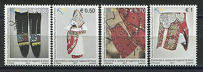 KOSOVO(085) 2011 - National Costumes - MNH(**) Set