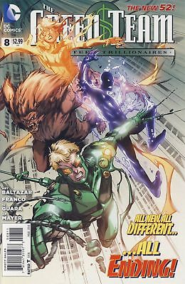 GREEN TEAM TEEN TRILLIONAIRES #8 (DC 2014 1st Print) COMIC