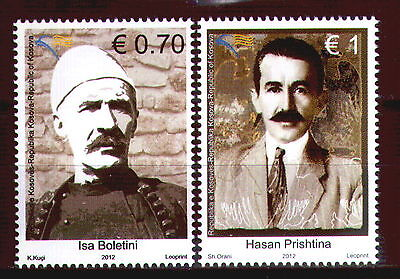 KOSOVO(101) 2012 - Famous People - Boletini - Prishtina - MNH Set