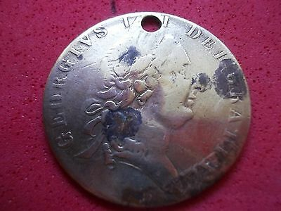 GAMING TOKEN/COIN BUST GEORGE 111 Rx C.W.B.ET.CO.DG I REX F.D. B.I.R.M.1790[#005