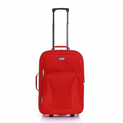 Hi-Tec Ryanair Easyjet Expandable Cabin Hand Carry-on Suitcase Case Bag Luggage
