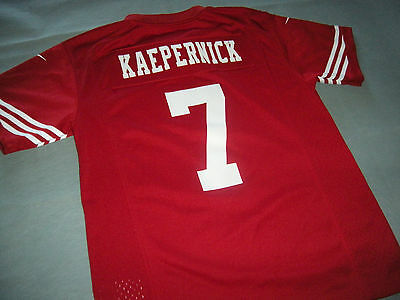 San Francisco 49ers COLIN KAEPERNICK Nike NFL Jersey YOUTH KIDS BOYS M 10-12 409606bac