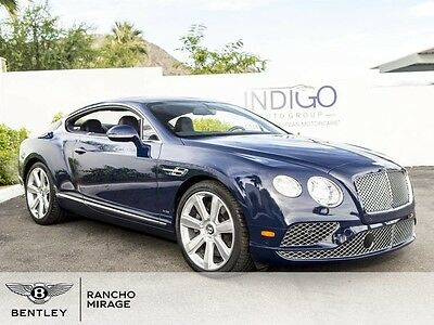2016 Bentley Continental GT  2016 Bentley Continental GT W12 Coupe Oxford Imperial Blue Rear Camera