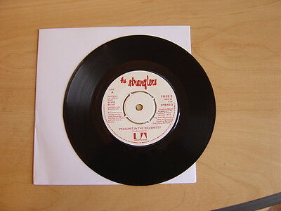 """The Stranglers: Peasant In the Big Shitty/Choosey Susie 7"""": 1977 Rare."""