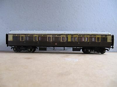 GWR 1st/3rd corridor coach built from PC Models kit