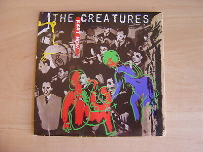 """The Creatures: Right Now  7"""": 1990 UK Release: Picture Sleeve. Excellent"""
