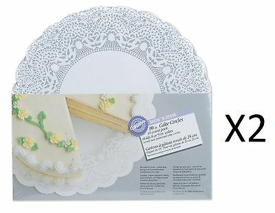 "Wilton 10"" Show 'N Serve Board 10 Pack Dessert Display Plate Dish Tray (2-Pack)"