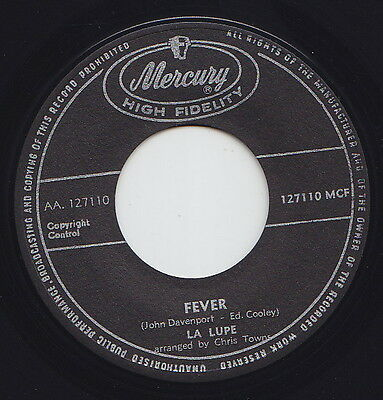 LA LUPE * Fever * 6T's Latin Northern SOUL NEW BREED R&B MOD 45 * Listen!