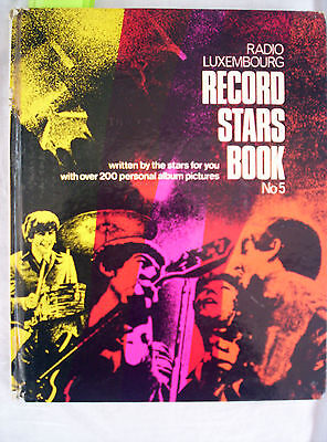 RADIO LUXEMBOURG 1966 RECORD STARS BOOK No 5,136 PAGES,THE BEATLES,WHO,B DYLAN+