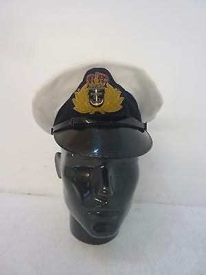 Royal Navy Naval Officers Frame Cap/Hat Gieves & Hawkes