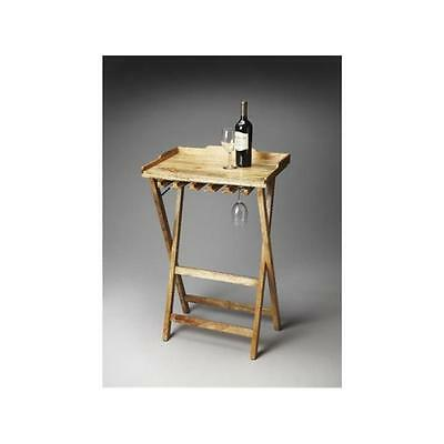 Butler Specialty Company 2775290 Highland Solid Wood Folding Wine Rack