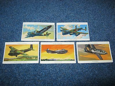 5 MILLS CIGARETTE CARDS,HISTORY OF AVIATION,AMALG TOBACCO Co (S.Africa).