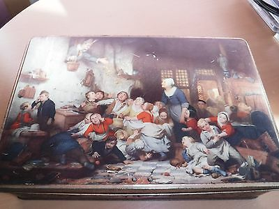 Vintage Tin - Wonderful Scene - From Belguim