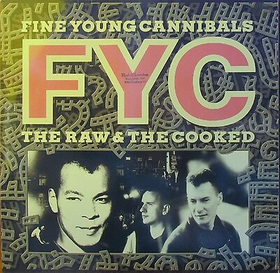 Lp -  Fine Young Cannibals - Fyc  = The Raw & The Cooked ...................1987