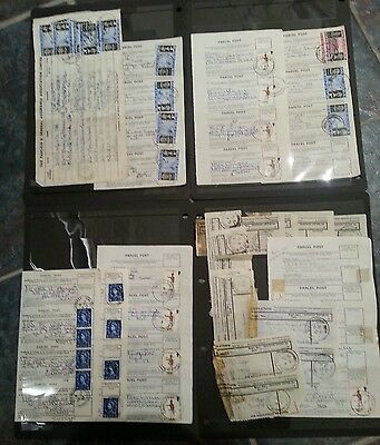 Guernsey, Quantity  Post Office Receipts, Many Different Codes
