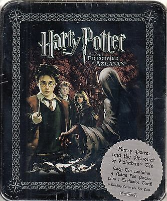 Harry Potter Prisoner Of Azkaban Poa 2004 Artbox Collectible Tin & 4 Pks