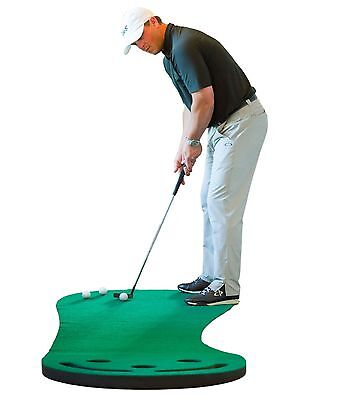 Golf Putting Green & Indoor Mat 9'x3' (Designed By Shaun Webb PGA Pro & G... New